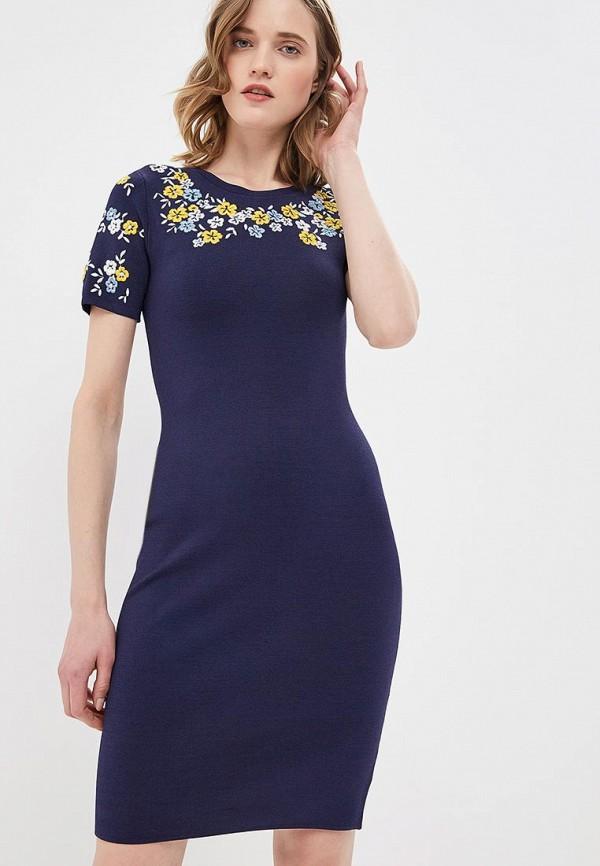 женское повседневные платье michael kors, синее