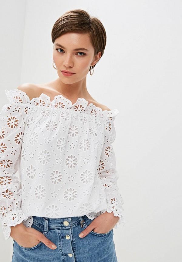 женская блузка michael kors, белая