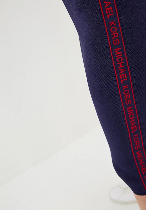 Фото 4 - женскую юбку Michael Michael Kors синего цвета