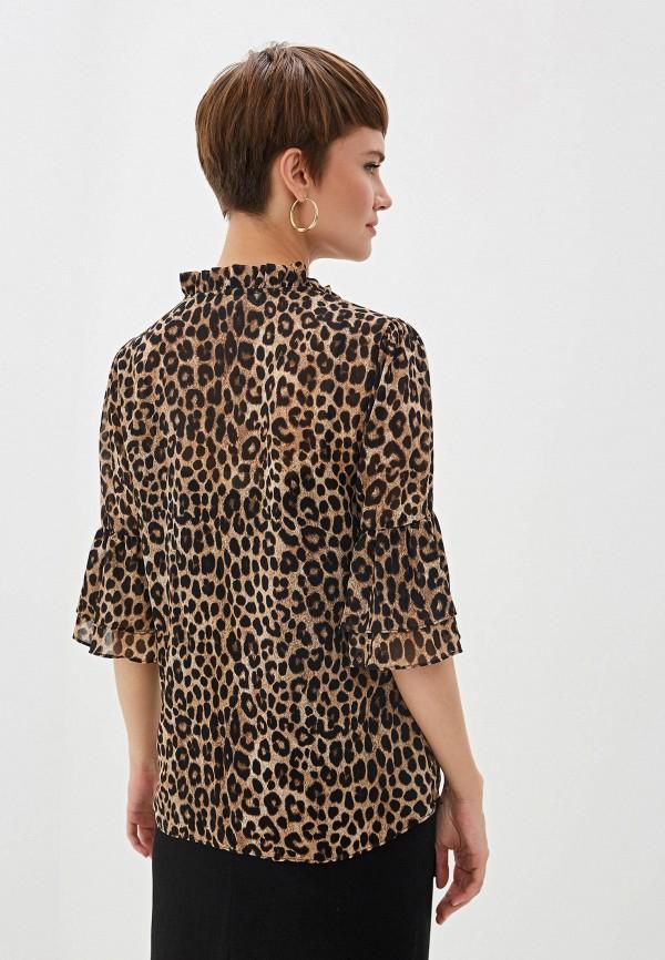 Фото 3 - Блузу Michael Michael Kors коричневого цвета