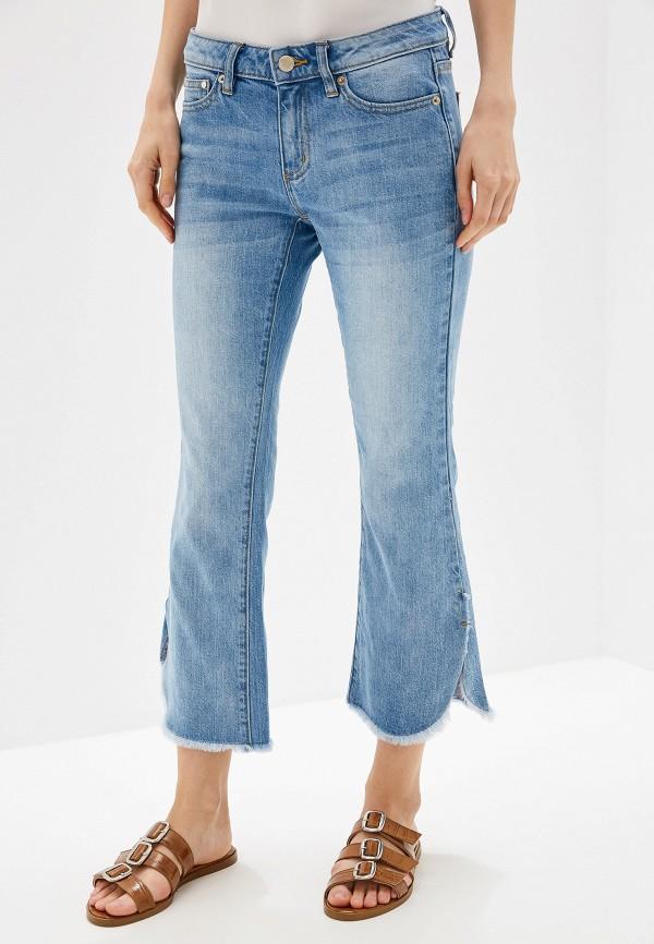 женские джинсы клеш michael kors, голубые