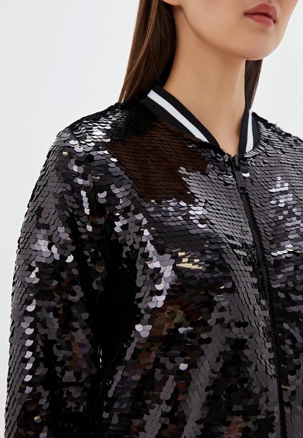 Фото 4 - женскую толстовку или олимпийку Michael Michael Kors черного цвета