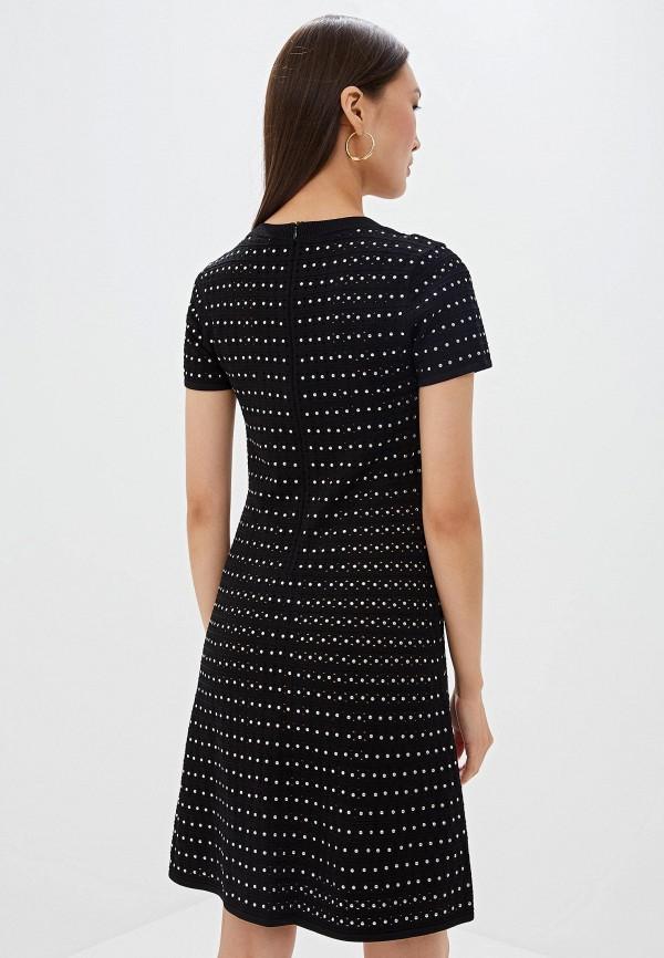 Фото 3 - женское повседневное платье Michael Michael Kors черного цвета