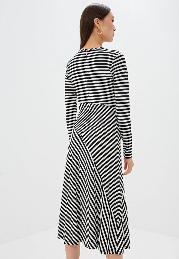 Фото 3 - женское повседневное платье Michael Michael Kors разноцветного цвета