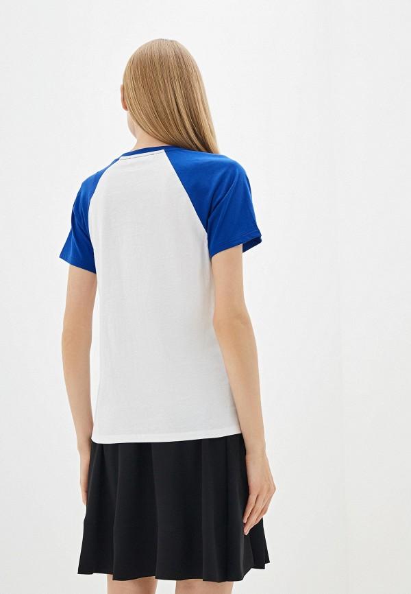 Фото 3 - женскую футболку Michael Michael Kors белого цвета
