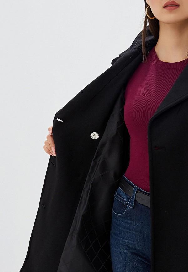 Фото 5 - женское пальто или плащ Michael Michael Kors черного цвета