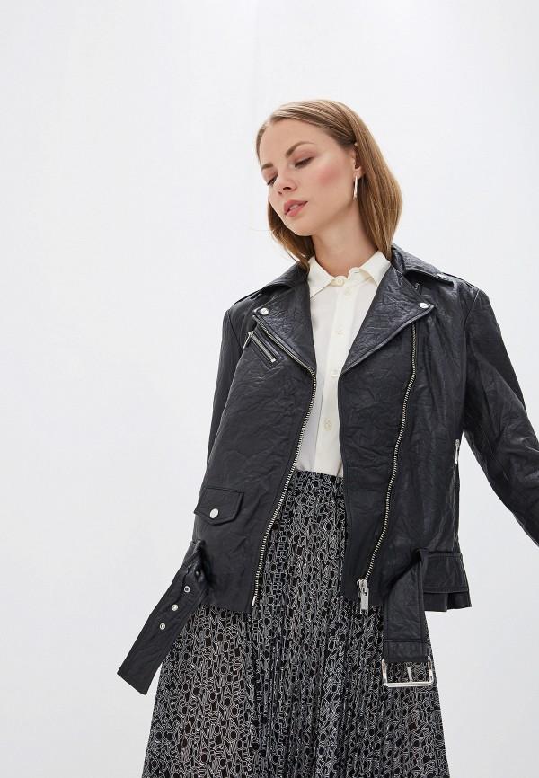 женская куртка michael kors, черная