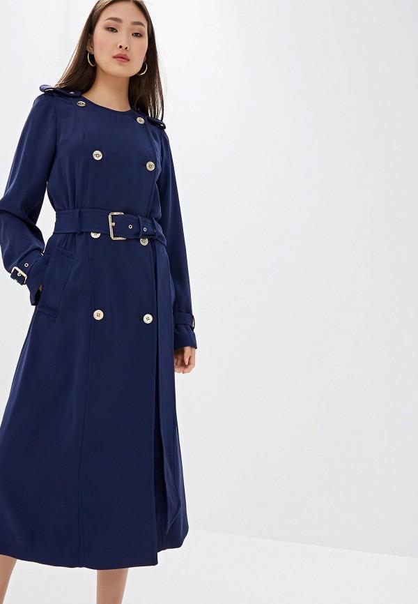Фото - женское пальто или плащ Michael Michael Kors синего цвета