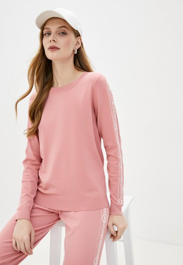 женский джемпер michael kors, розовый