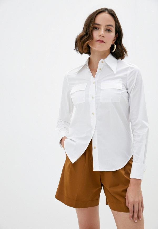 женская рубашка с длинным рукавом michael kors, белая