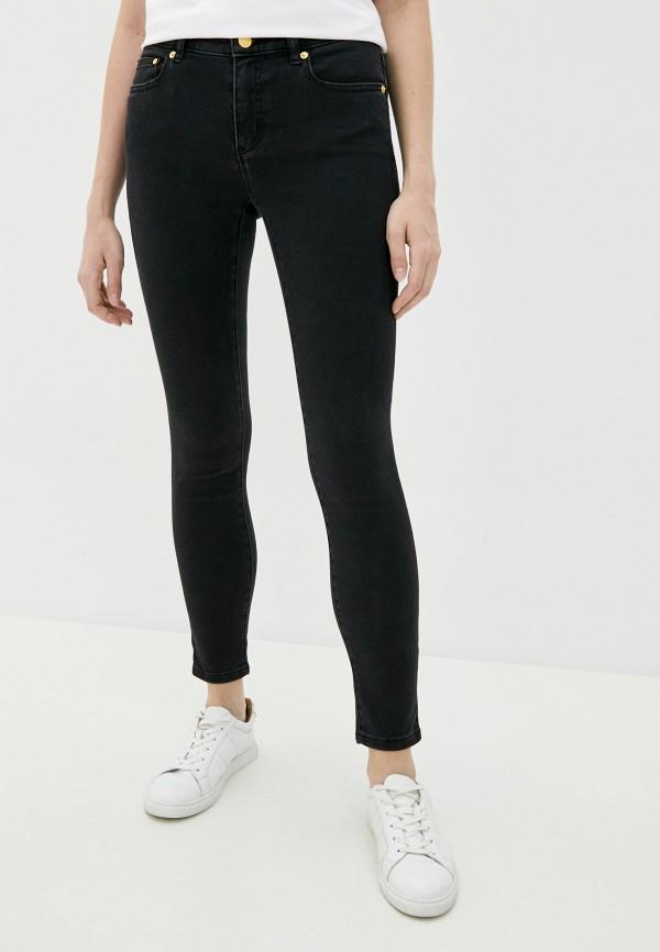 женские джинсы скинни michael kors, черные