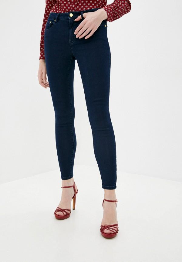 женские джинсы скинни michael kors, синие