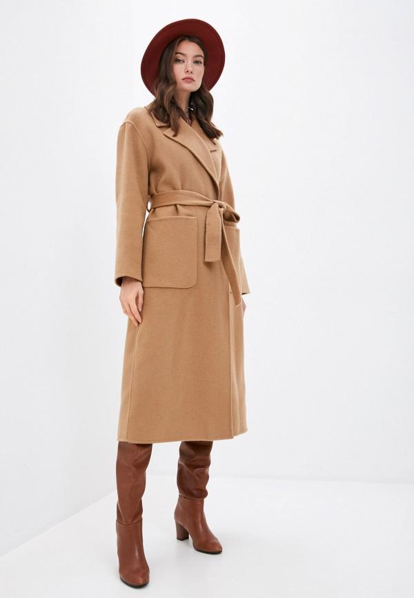 женское пальто michael kors, бежевое