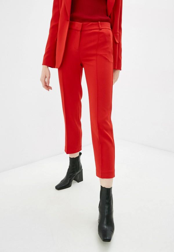 женские классические брюки michael kors, красные