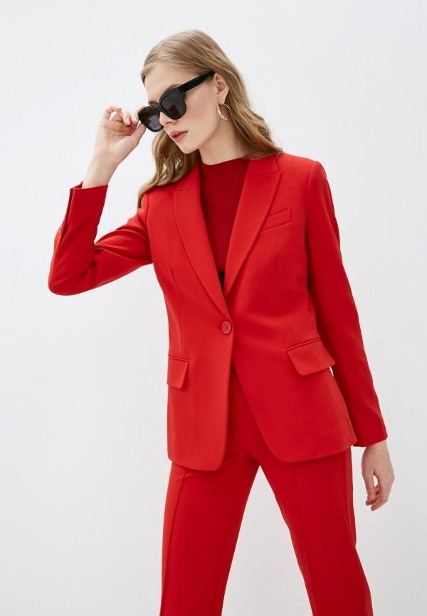 женский пиджак michael kors, красный