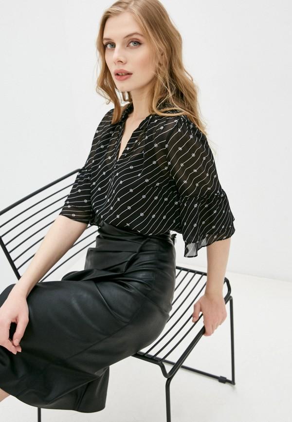 женская блузка michael kors, черная