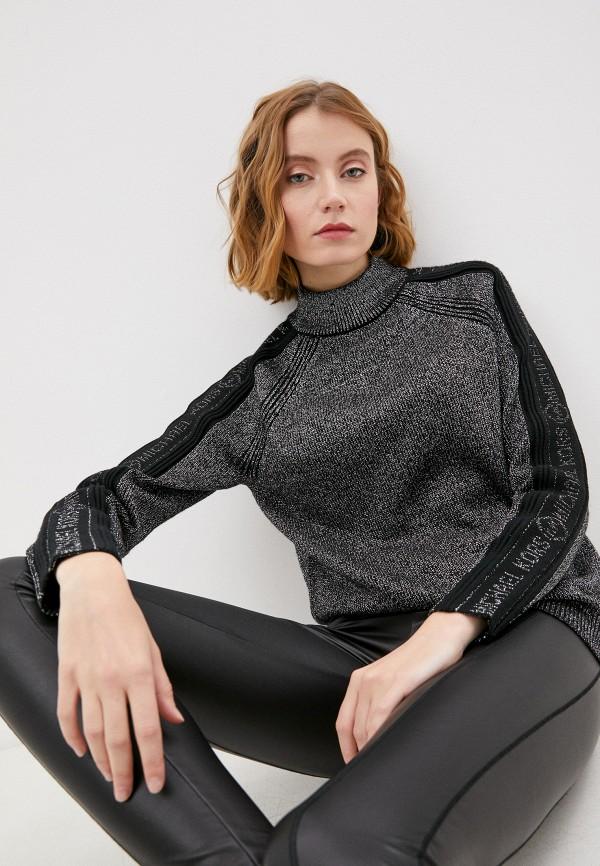 женский свитер michael kors, серебряный