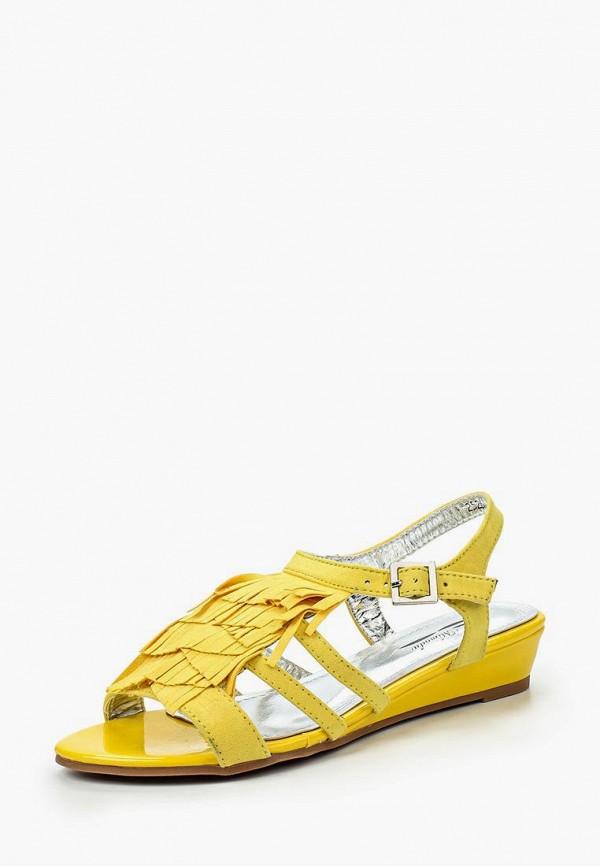 Купить Сандалии Mimoda, mi049awiom02, желтый, Весна-лето 2016