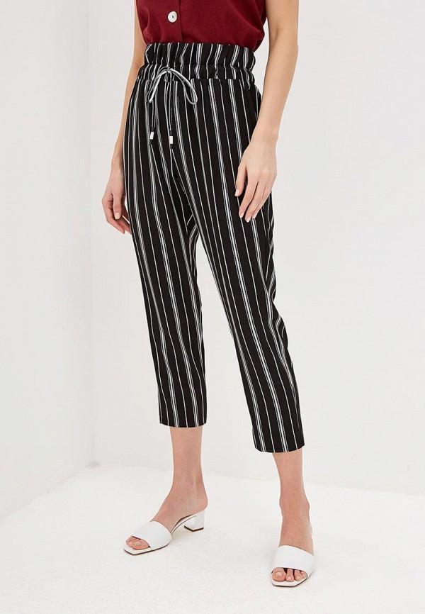 женские повседневные брюки miss miss by valentina, черные