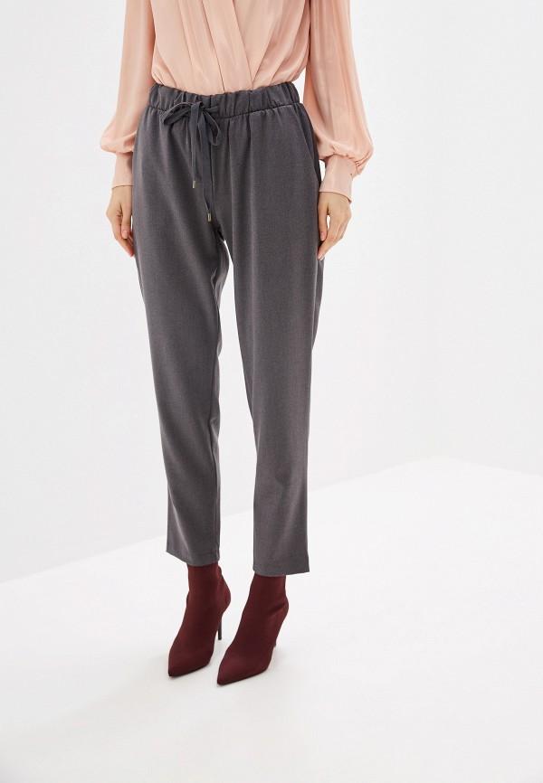 женские брюки miss miss by valentina, серые