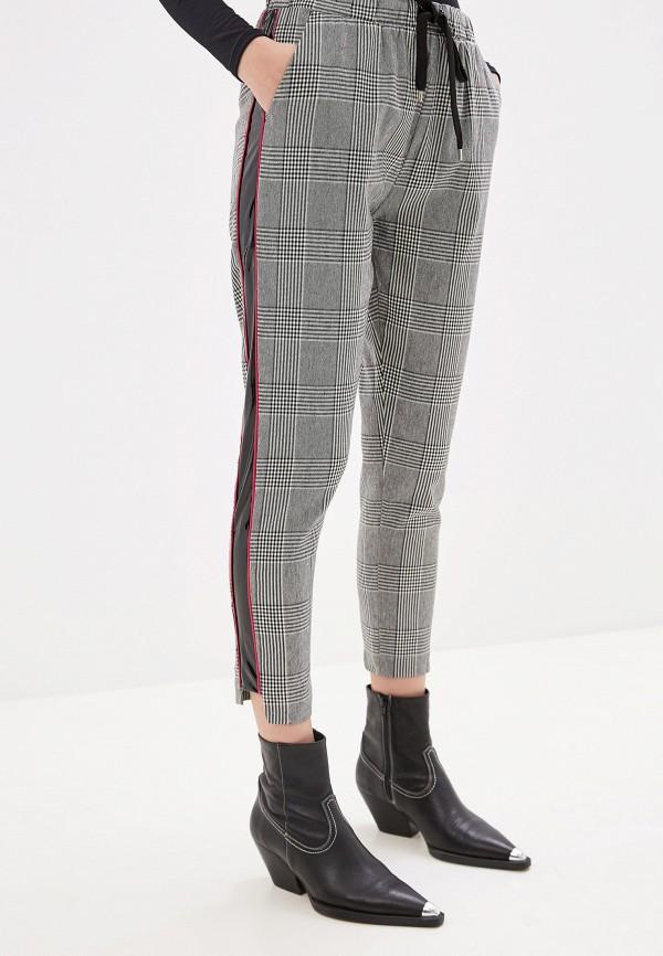 женские повседневные брюки miss miss by valentina, серые
