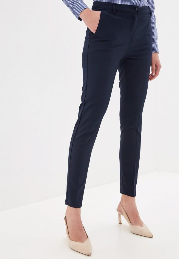 женские повседневные брюки miss miss by valentina, синие