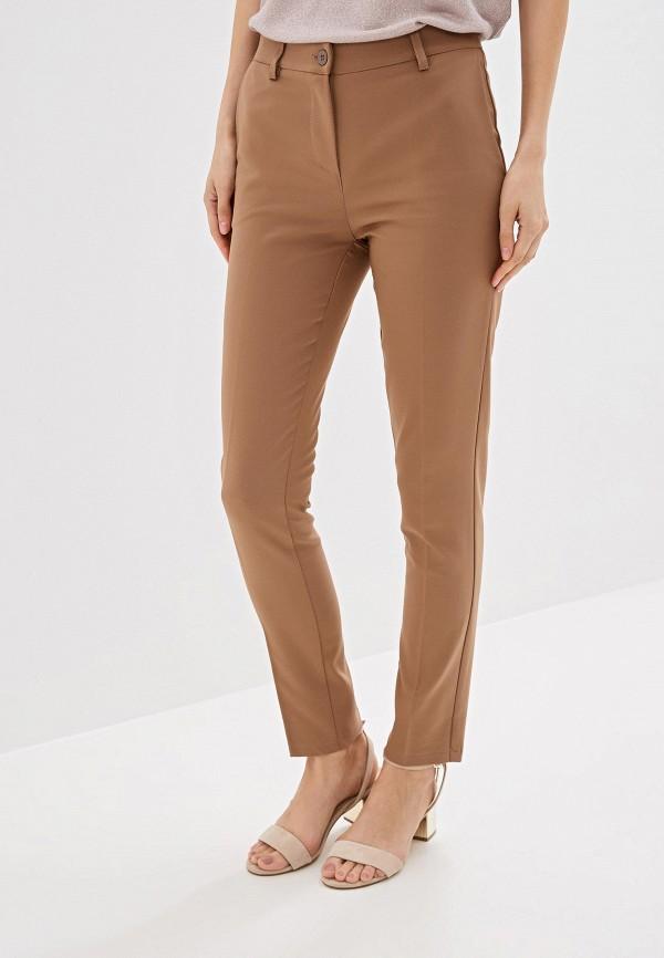женские повседневные брюки miss miss by valentina, бежевые