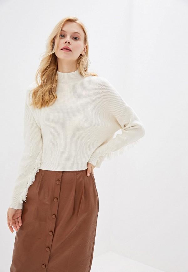 женский свитер miss miss by valentina, белый