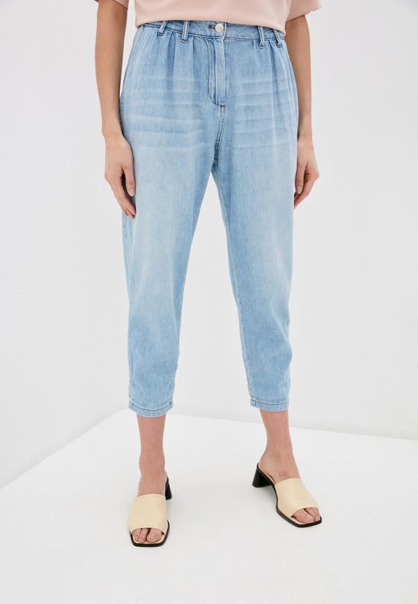 женские джинсы miss miss by valentina, голубые