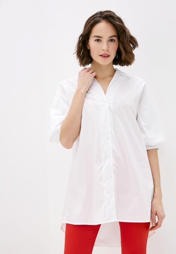 женская блузка miss miss by valentina, белая