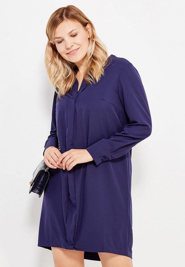 Фото - Платье Milanika синего цвета