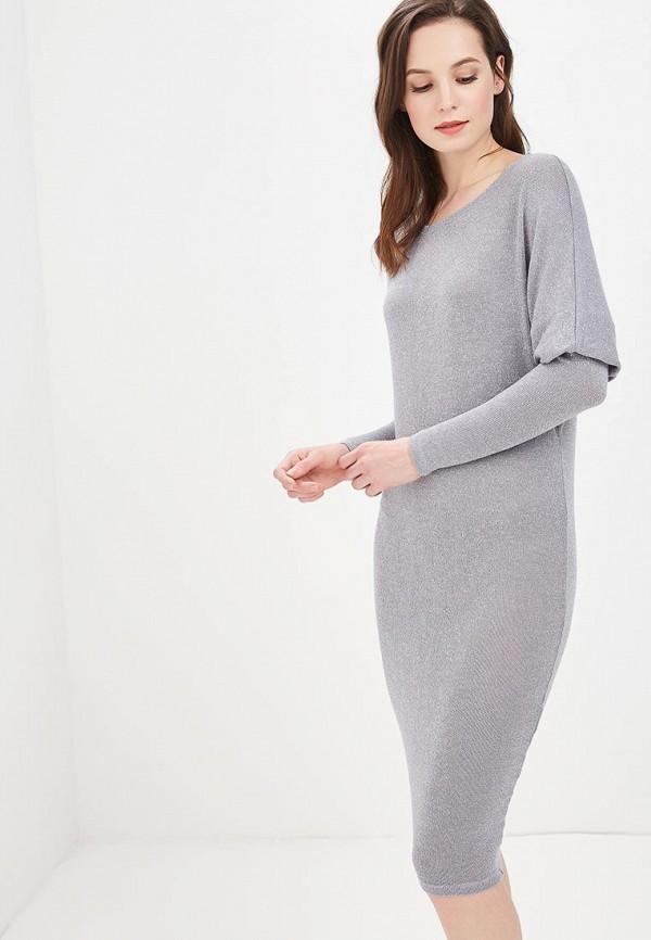 Купить Платье MiraSezar, MI068EWBNNK4, серебряный, Весна-лето 2018
