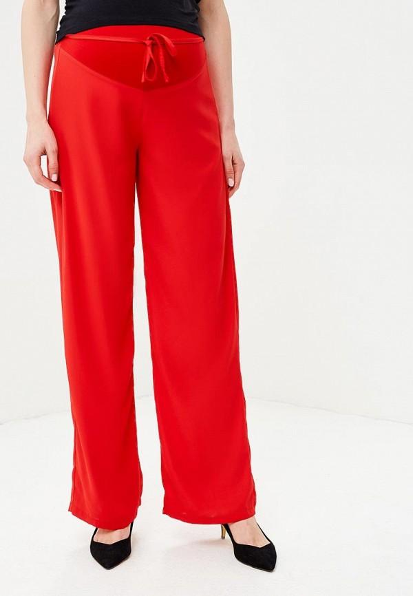 женские брюки mit mat mamá, красные