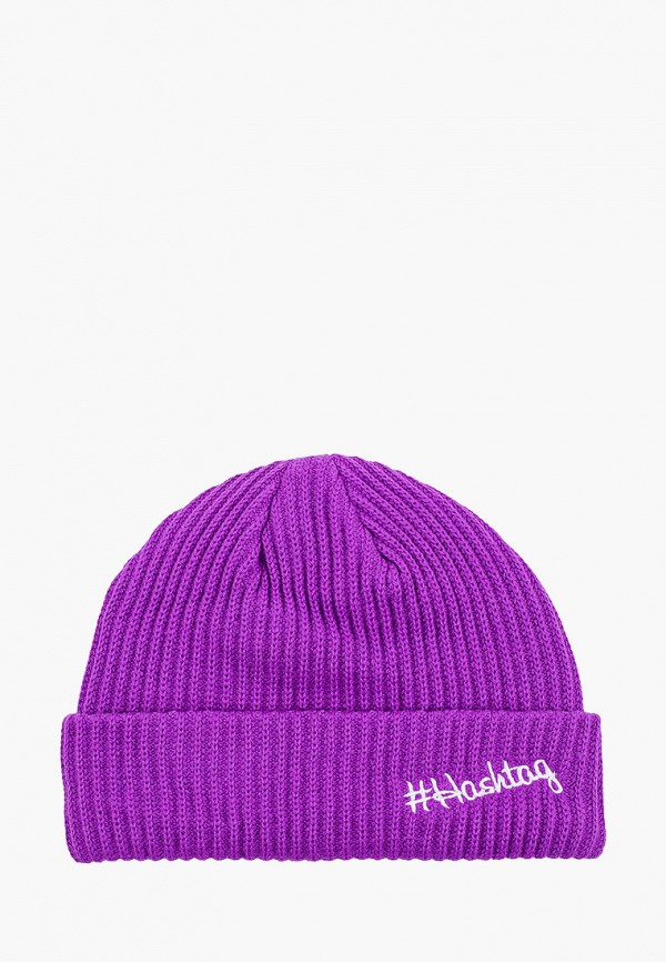 женская шапка miss gabby, фиолетовая