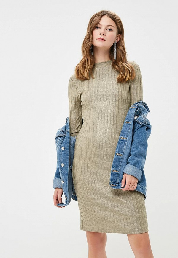 Купить Платье Miss Gabby, MI074EWCNFM3, хаки, Осень-зима 2018/2019
