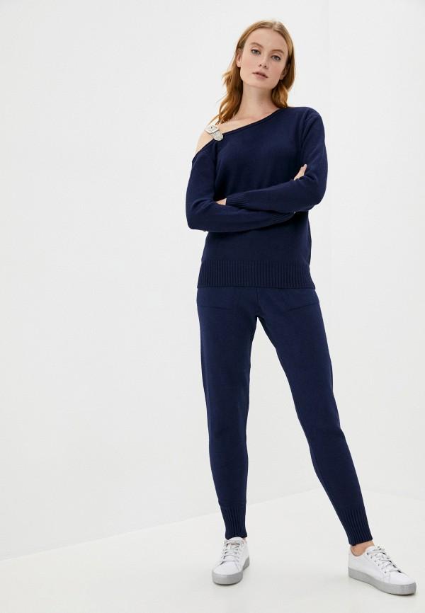 женский костюм miss gabby, синий