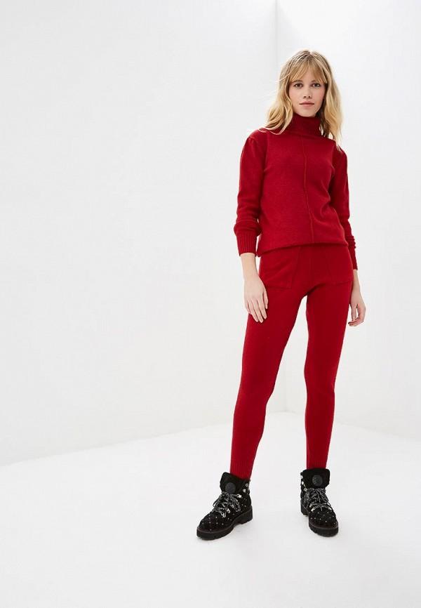 женский костюм miss gabby, красный