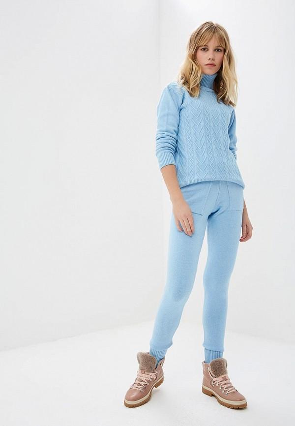 женский костюм miss gabby, голубой
