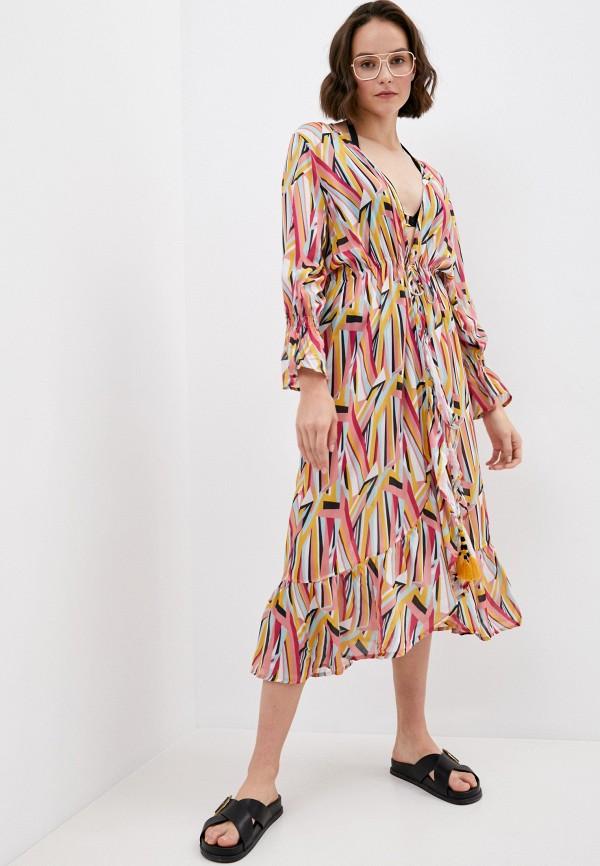 женское платье milonga, разноцветное