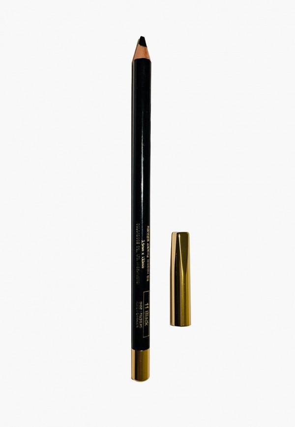 женский карандаш для бровей mikatvonk, черный