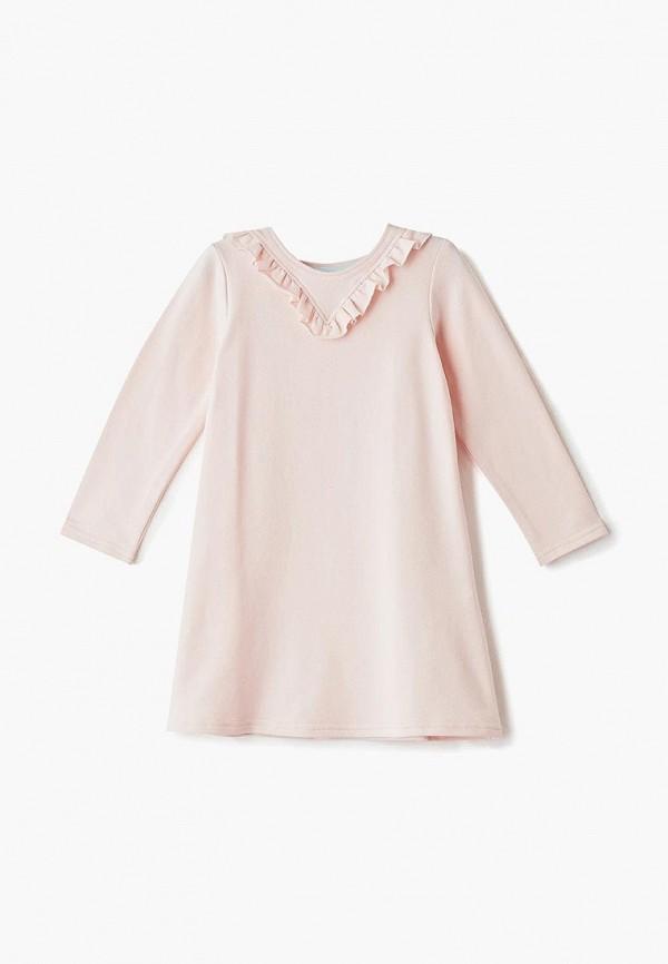 платье misha & milo для девочки, розовое