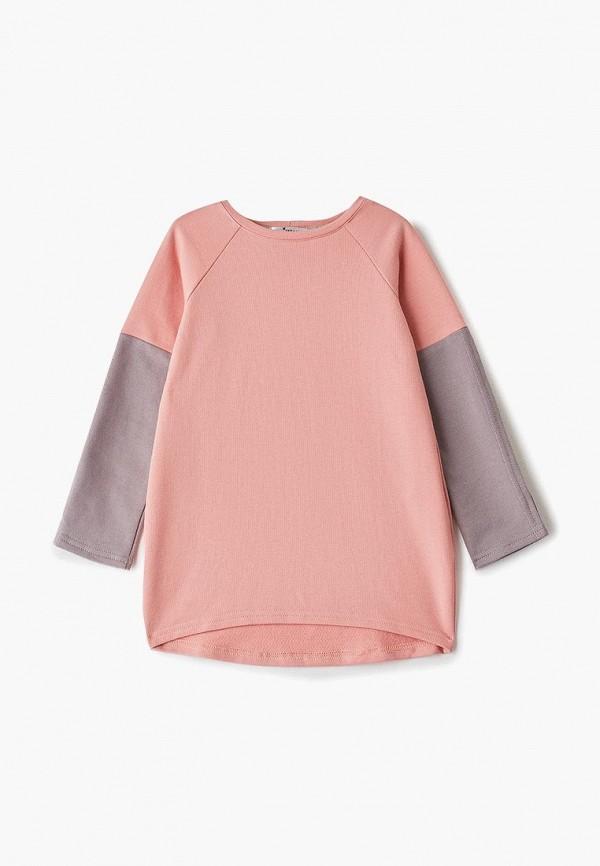 повседневные платье misha & milo малыши, розовое