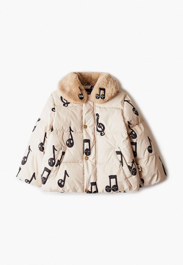 Куртка для девочки утепленная Mini Rodini 20710117