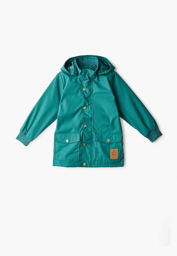 куртка mini rodini малыши, зеленая