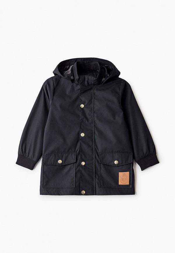 куртка mini rodini малыши, черная