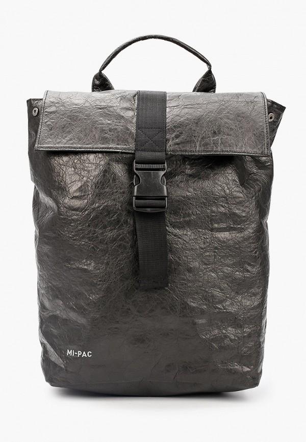 женский рюкзак mi-pac, серый