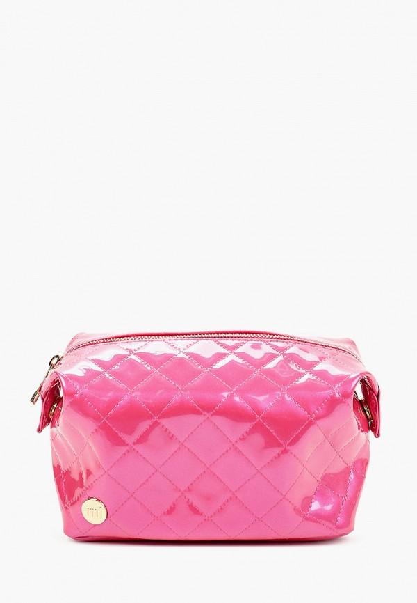 женская косметичка mi-pac, розовая