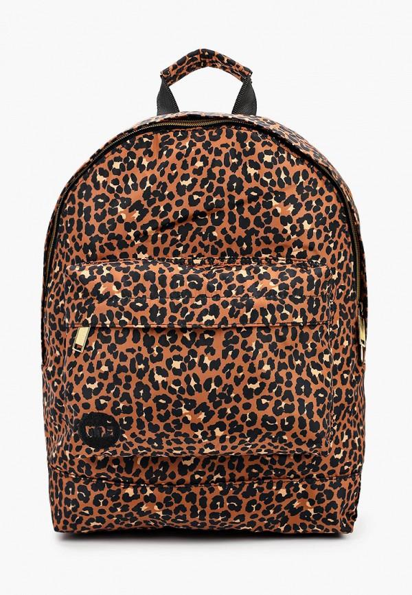 женский рюкзак mi-pac, коричневый