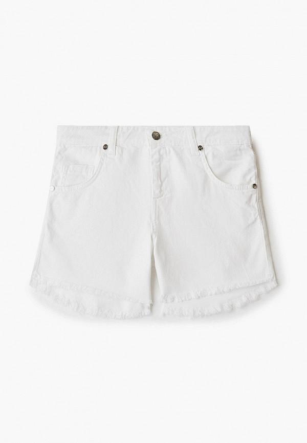 шорты miss blumarine для девочки, белые