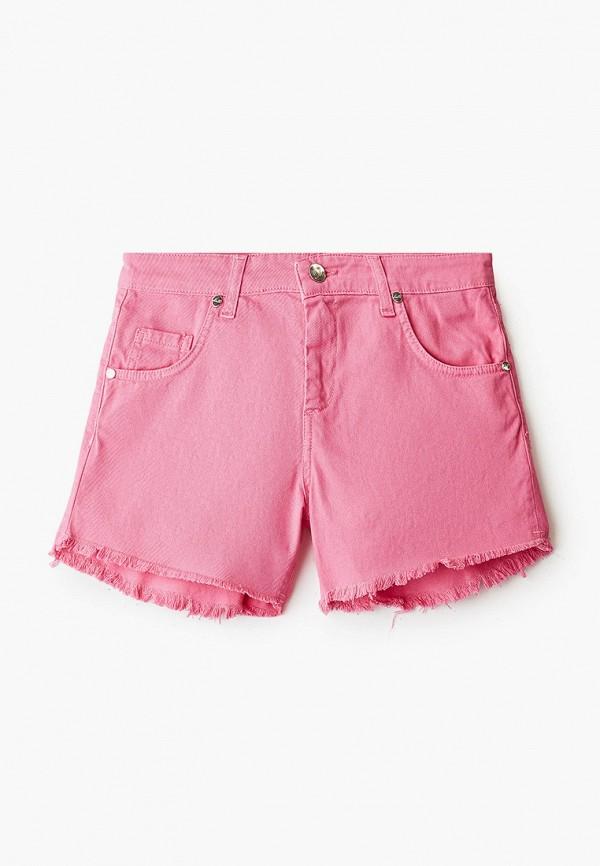 шорты miss blumarine для девочки, розовые